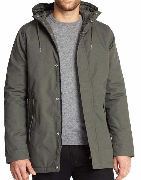 Revolution 7244 Heavy Jacket - Revolution 7244 Heavy Jacket 35% Bomuld/Cotton 65% Polyester - Style no. 7244 - Farve/Color: Olive Revolution 7244 Heavy Jacket