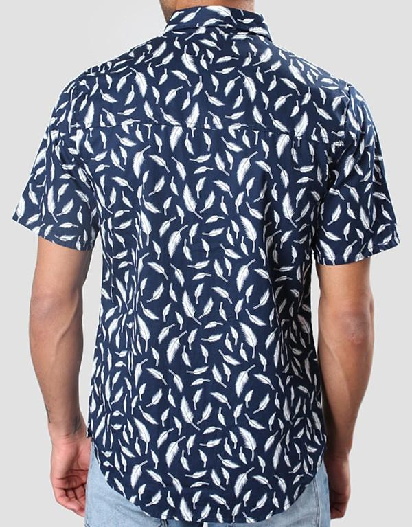 Revolution All Over Leaf Shirt hos Stillo