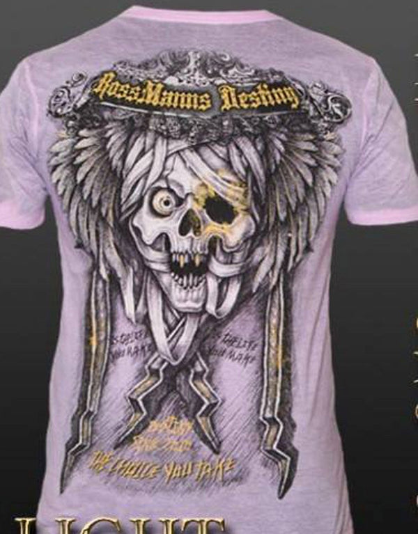 Rossmanns Destiny Skulls Choice T-Shirt hos Stillo