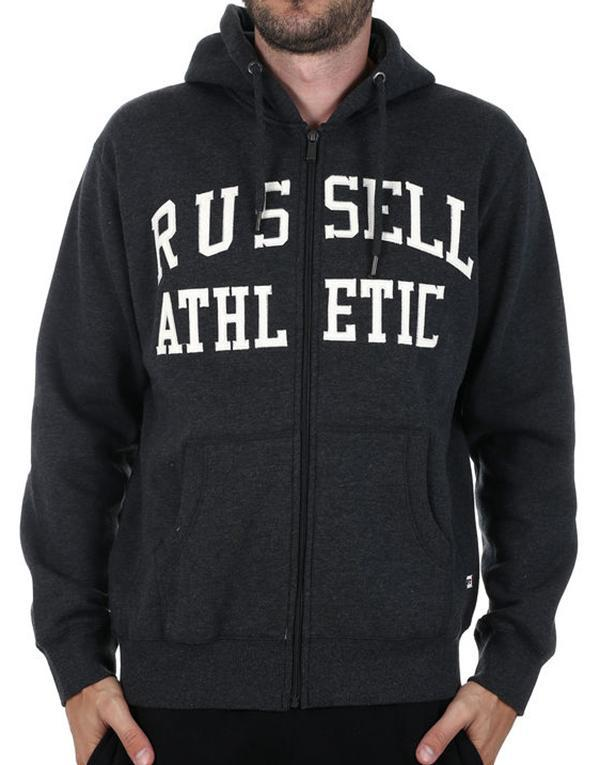 Russell Athletic Arch Logo Zip Hoody hos Stillo
