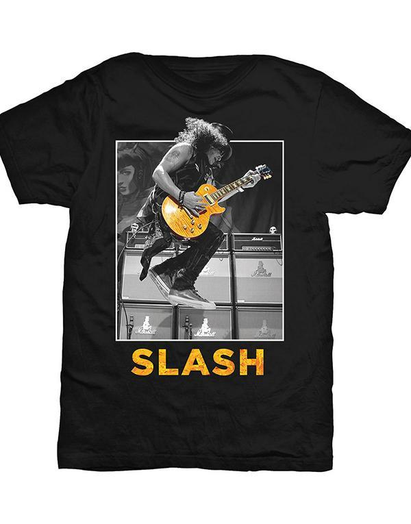 Slash Guitar Jump T-Shirt hos Stillo