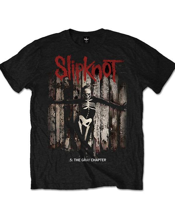 Slipknot 5th The Gray Chapter Album T-Shirt hos Stillo