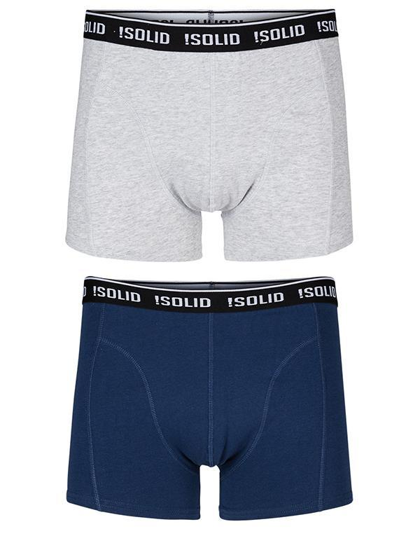 !Solid Garri Boxer Shorts 2 Pack hos Stillo
