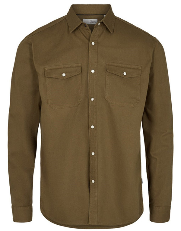 !Solid Sly LS Twill Shirt