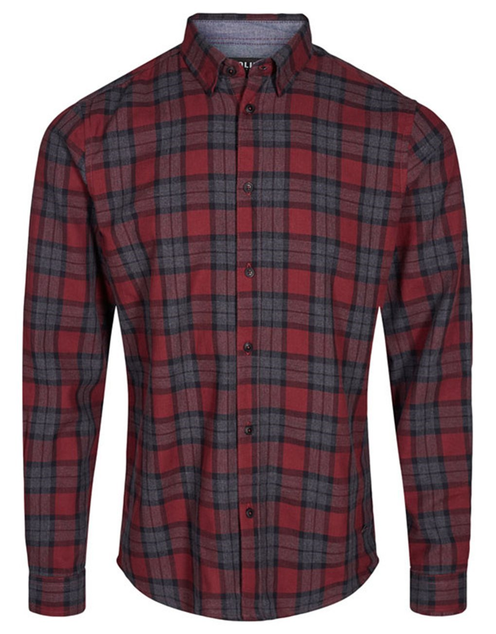 !Solid Tylor Check Shirt