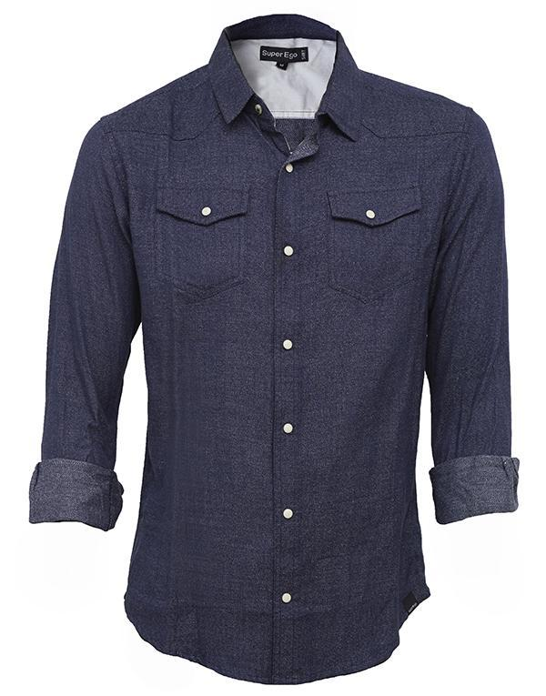 Super Ego Denim look Shirt hos Stillo