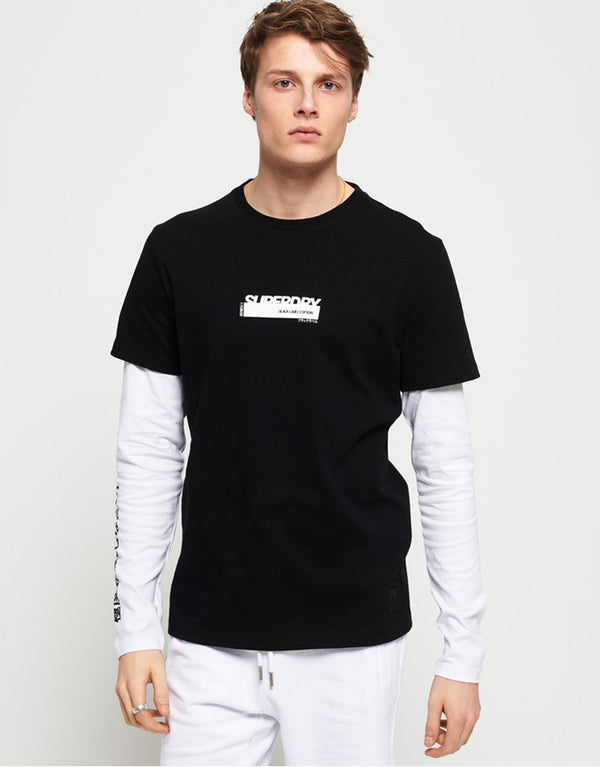 Superdry Black Label Special Edition LS T-Shirt