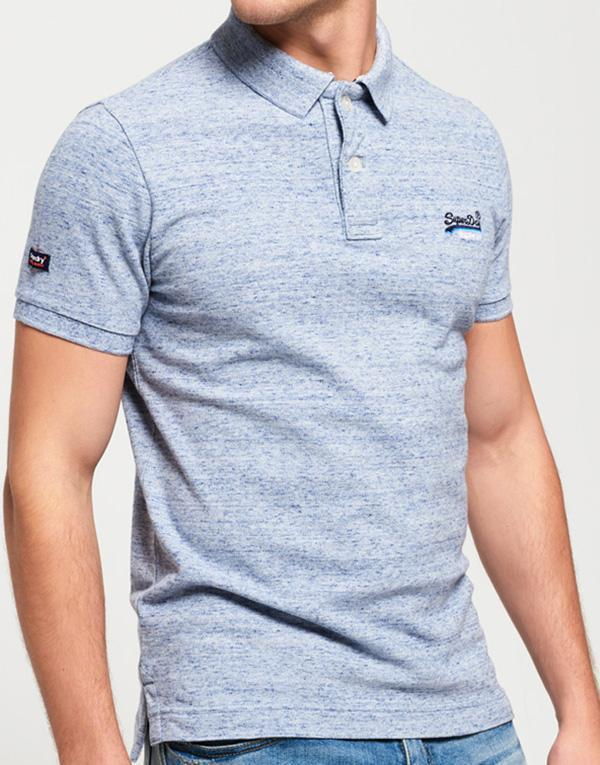 SuperDry Classic S/S Pique Polo hos Stillo
