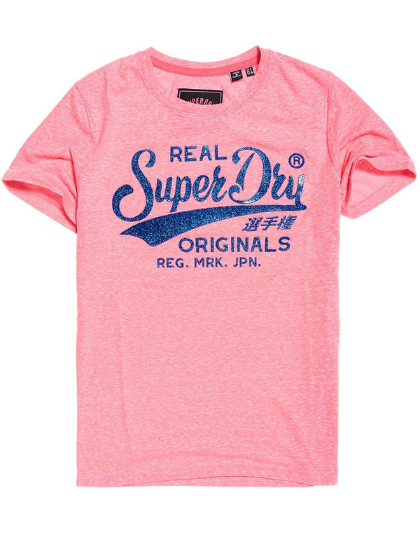 Superdry Lady Originals High Build Crac T-shirt