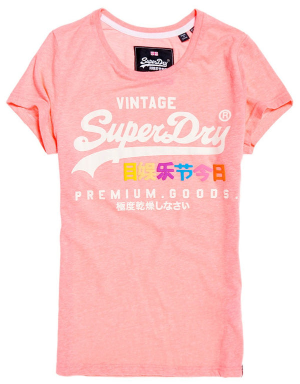 Superdry Lady Premium Goods Puff Entry T-shirt