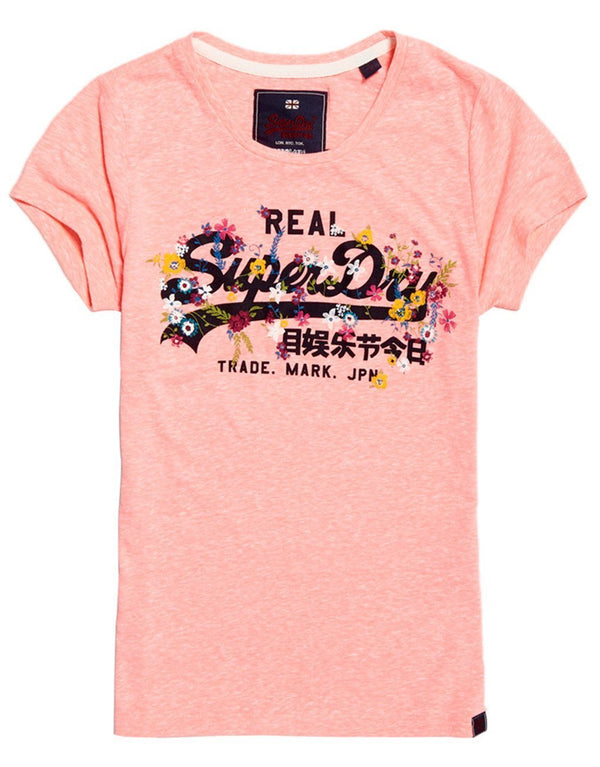 Superdry Lady Vintage Logo Puff Emb Entry T-shirt