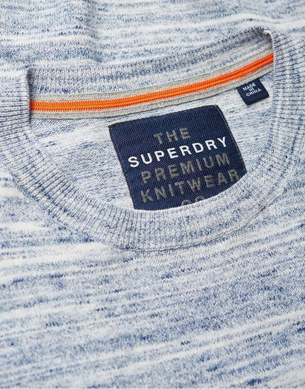 SuperDry Orange Label Knit Crew1 hos Stillo