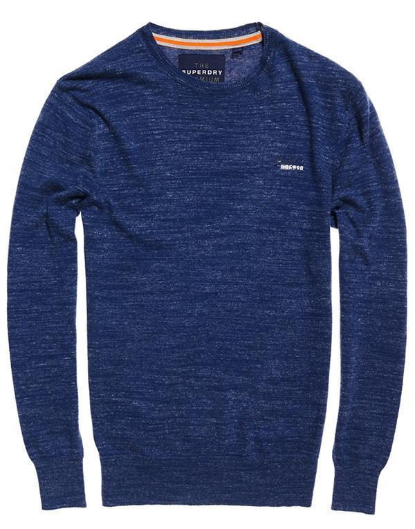 SuperDry Orange Label Knit Crew hos Stillo