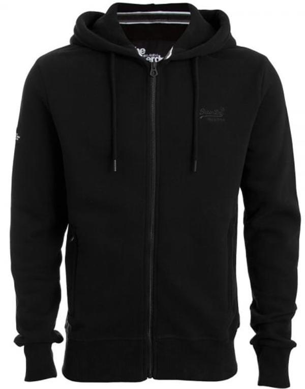SuperDry Orange Label Urban ZipHood hos Stillo