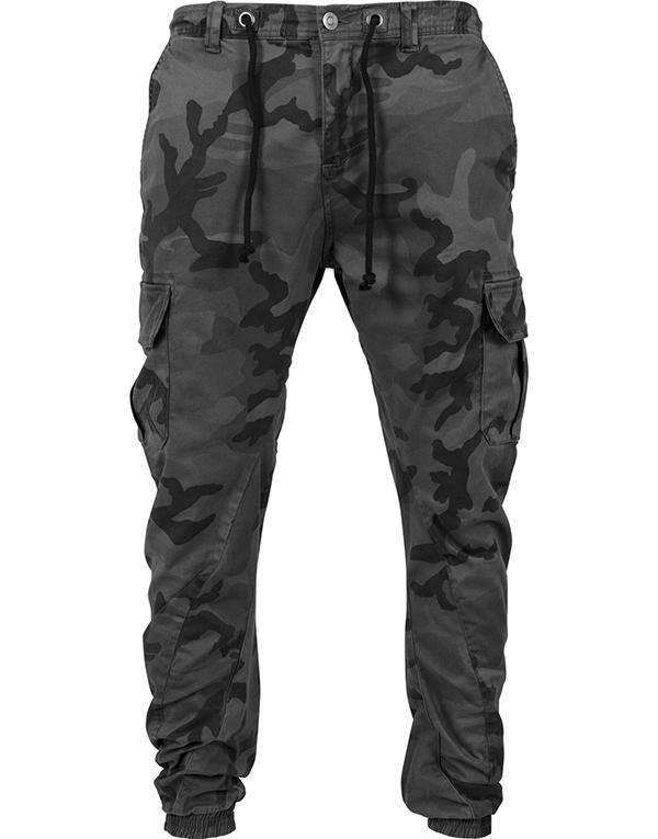 Urban Classics Camo Cargo Jogging Pants hos Stillo