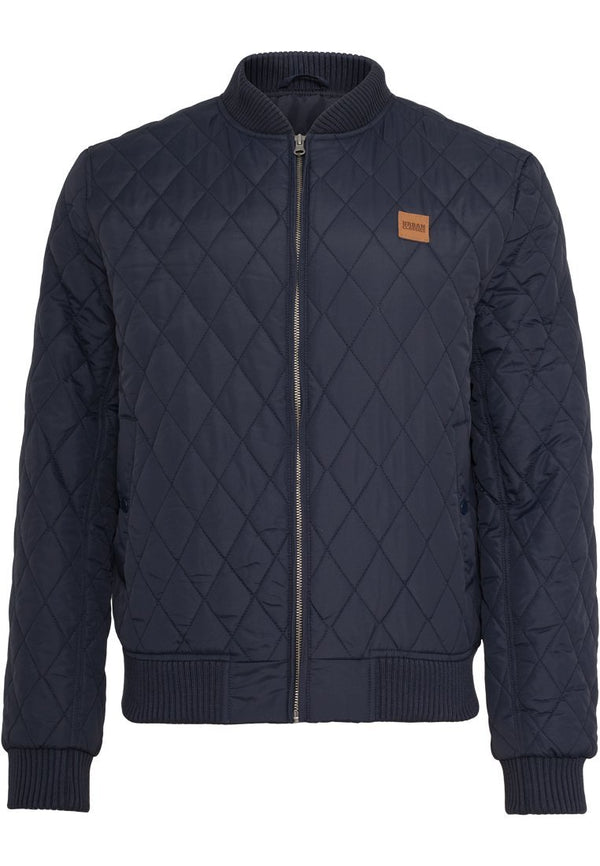 Urban Classics Diamond Quilt Nylon Jacket