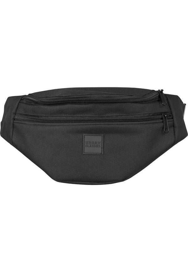 Urban Classics Double-Zip Shoulder Bag