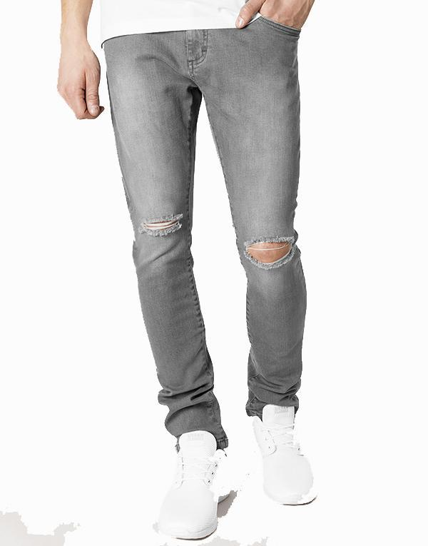 Urban Classics Knee Cut Pants hos Stillo