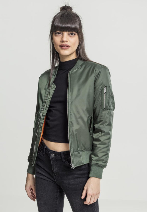 Urban Classics Ladies Basic Bomber Jacket