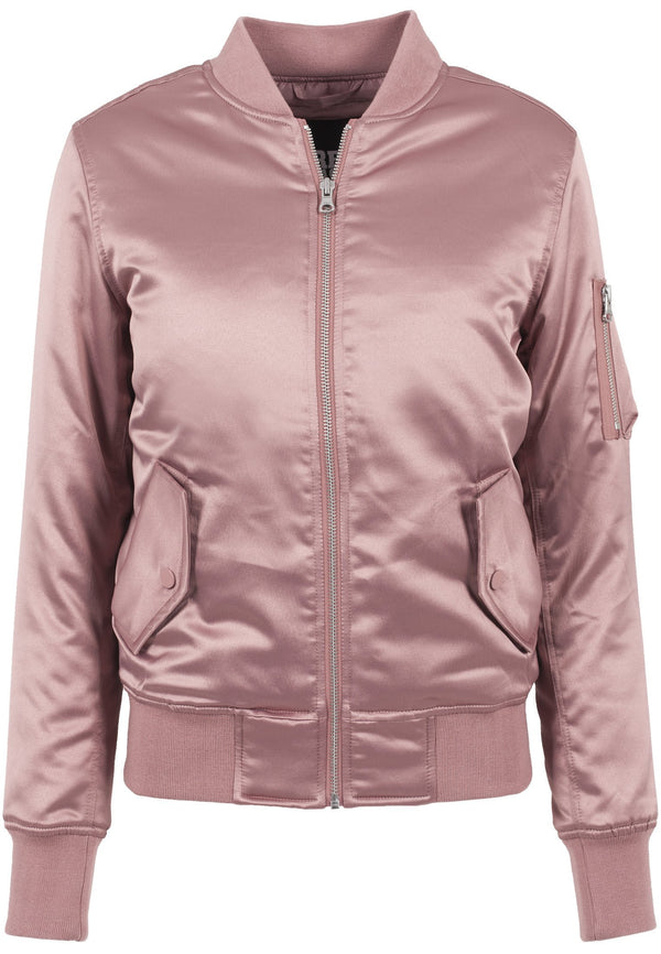 Urban Classics Ladies Satin Bomber Jacket