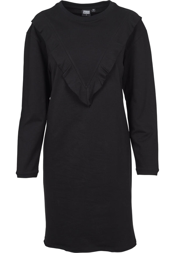 Urban Classics Ladies Terry Volant Dress hos Stillo