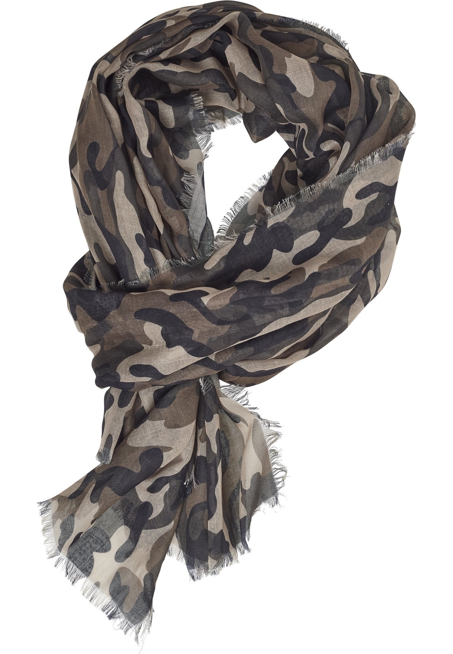 Urban Classics Light Camo Scarf hos Stillo
