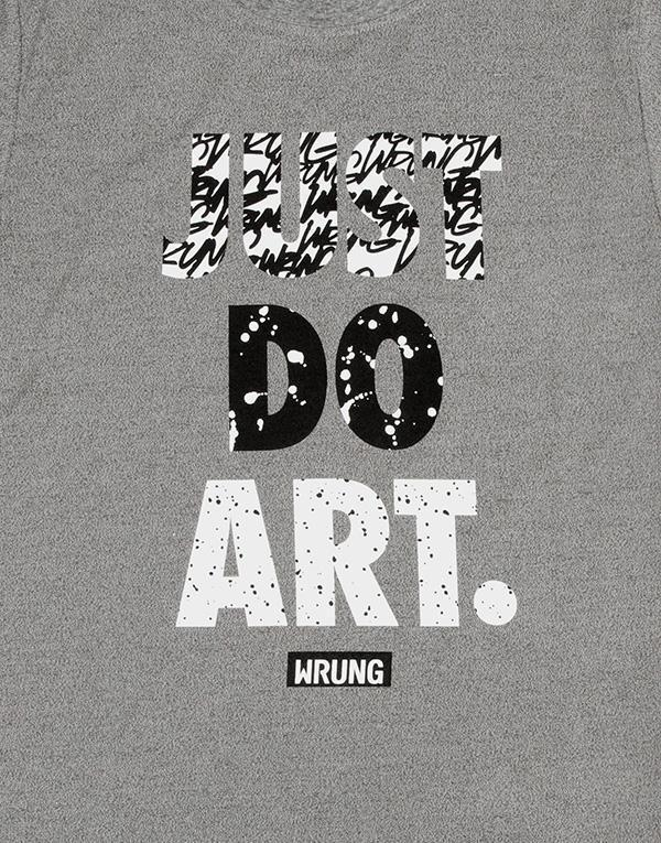 Wrung Just Do Art T-Shirt hos Stillo