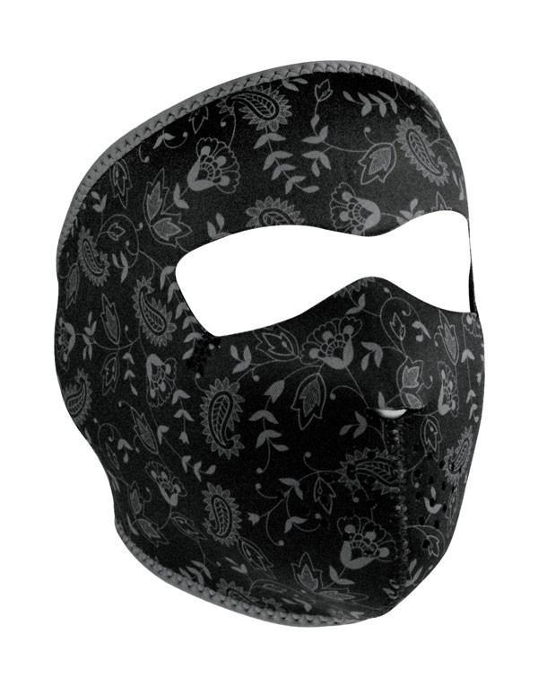 ZANheadgear Dark Paisley Mask hos Stillo