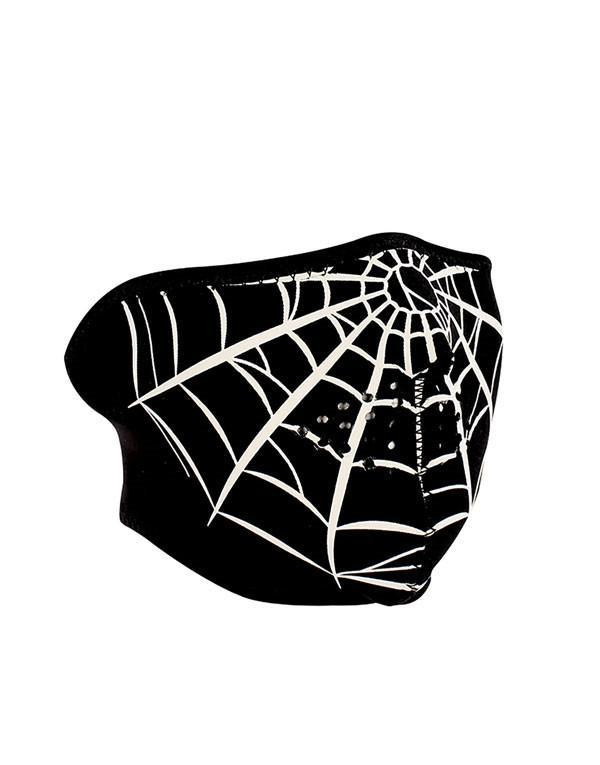 ZANheadgear Spider Web Half Mask hos Stillo