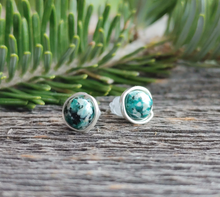 jasper studs courage stone earrings green stone