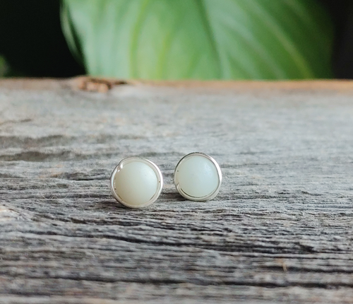 amazonite stone studs courage and truth stone