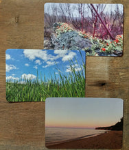 michigan inspired postcards, michigan adventures postal gifts