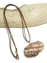 lake superior stone necklace essential oil necklace