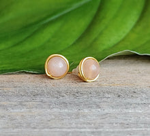 24k-gold-stud-earrings-natural-stone-jewelry