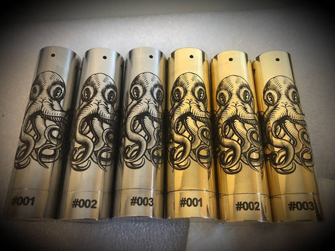 LIMITED EDITION DEPTH CHARGE MODS CO (BRASS)