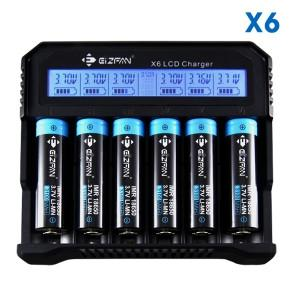 Efan X6 - 6 Bay Charger
