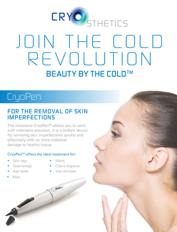 "Coming very soon to ""The Station"" CryoPen treatments"