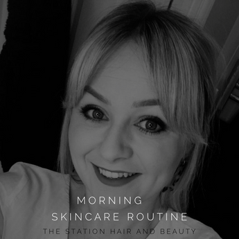 Morning skincare routine by Alice Milne