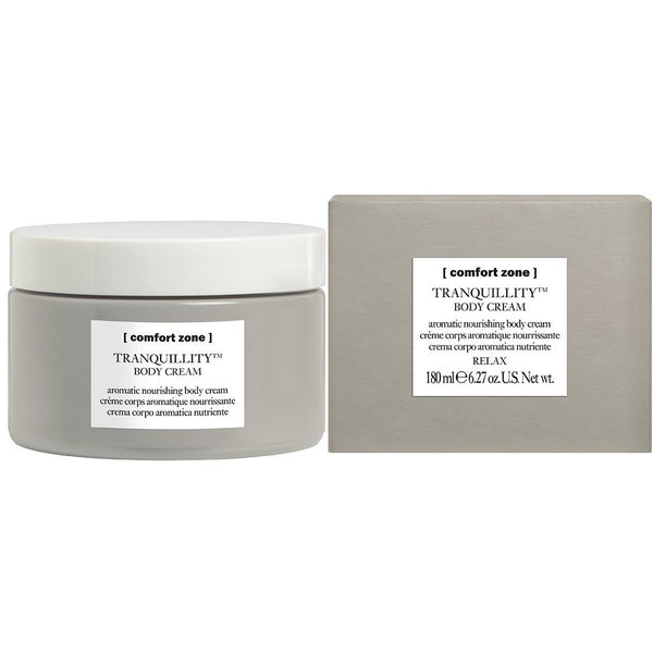 TRANQUILLITY BODY CREAM (aromatic nourishing body cream) - The Station Hair and Beauty