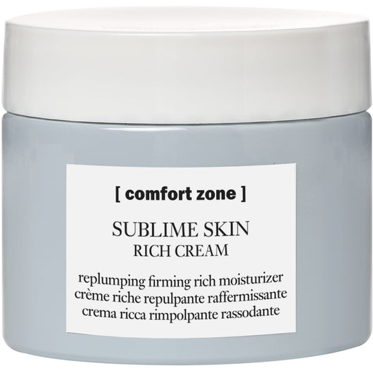SUBLIME SKIN RICH CREAM replumping firming rich moisturizer - The Station Hair and Beauty