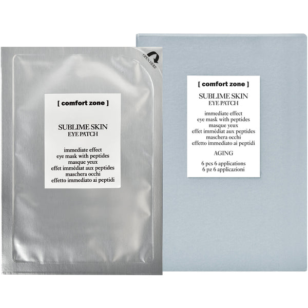 SUBLIME SKIN EYE PATCH immediate effect eye mask with peptides - The Station Hair and Beauty