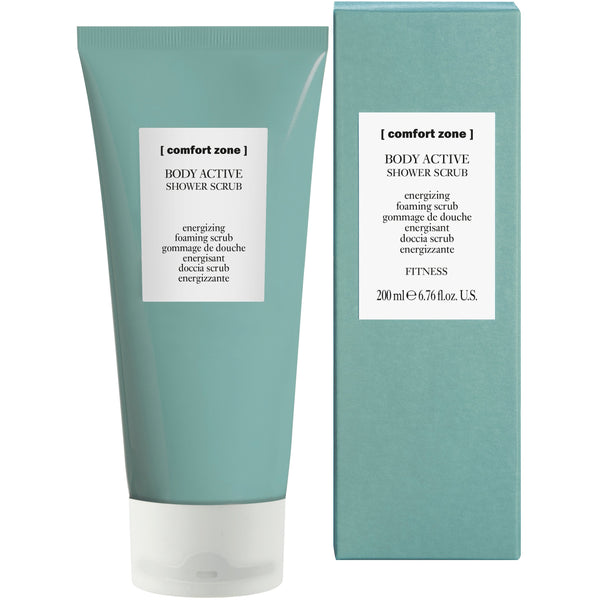 BODY ACTIVE SHOWER SCRUB Energizing foaming scrub - The Station Hair and Beauty