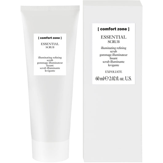 ESSENTIAL SCRUB illuminating refining scrub - The Station Hair and Beauty