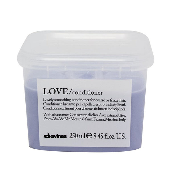 Davines Love Smoothing Conditioner 250ml - The Station Hair and Beauty
