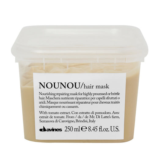 Davines Nounou Nourishing Hair Mask 250ml - The Station Hair and Beauty