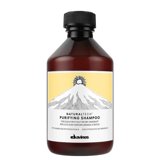 Davines Natural Tech Purifying Shampoo 250ml - The Station Hair and Beauty