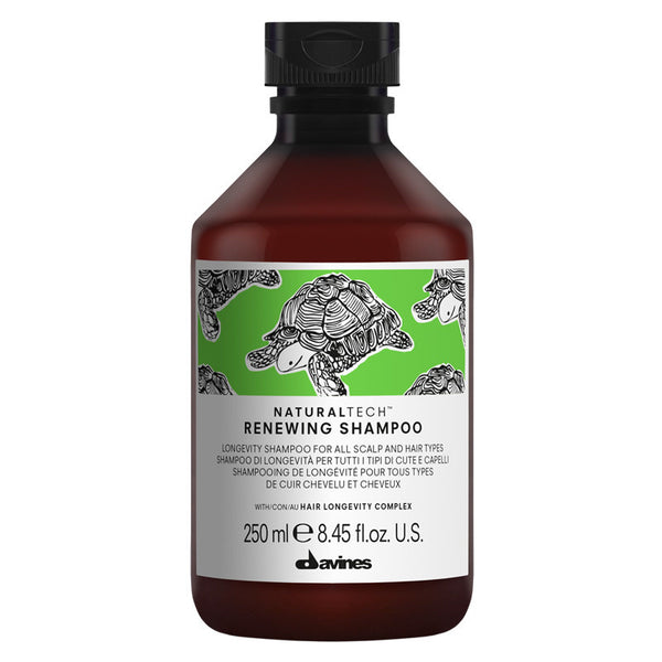 Davines Natural Tech Renewing Shampoo 250ml - The Station Hair and Beauty