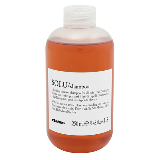 Davines Solu Clarifying Shampoo 250ml - The Station Hair and Beauty