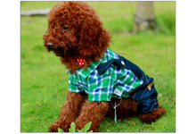 Denim Overalls of 100% High-quality for Pet Dogs