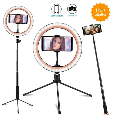 Desktop LED Selfie Ring Light Kit
